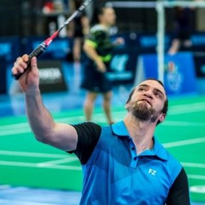 4ème portrait de la section « ParaBadminton »