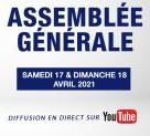 Diffusion de l'Assemblée Générale du 17-18 avril 2021