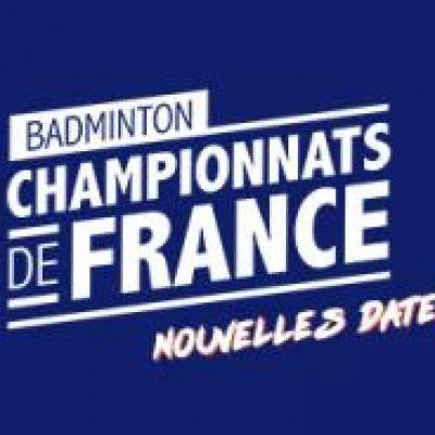 Nouvelles dates pour les Championnats de France Jeunes et Vétérans 2021