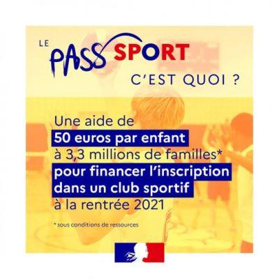 Préparer la rentrée de septembre 2021 avec le «Pass'sport»