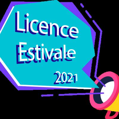 Licence estivale août 2021