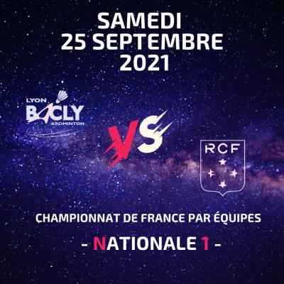 1ère journée du Championnat de France par équipe le samedi 25 septembre 2021 de 16h00 à 19h00