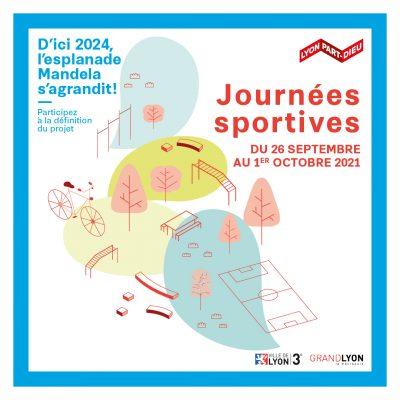 🔴🔵 Journées sportives Esplanade Mandela Lyon 3ème 🔴🔵