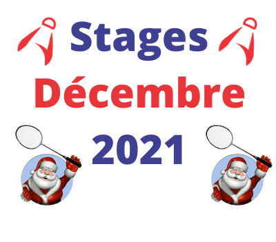 Stages de décembre 2021